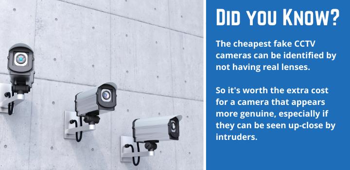 Dummy CCTV Camera Fact